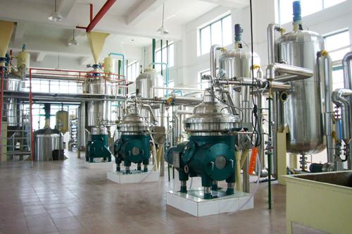 1、一级米糠油连续脱磷、脱胶工段.JPG